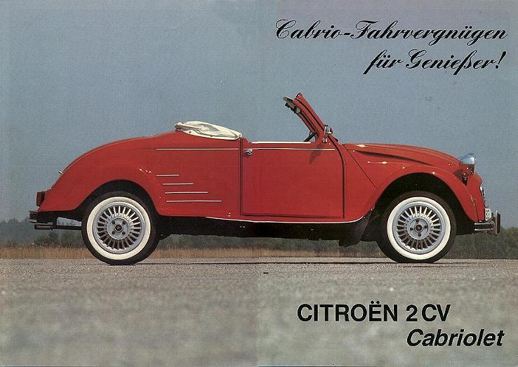 2CV cabrio 1