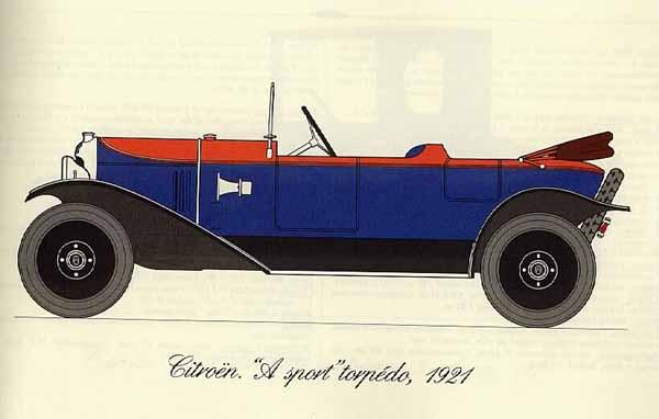 1921_Type_A_Sport_torpedo